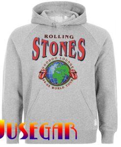 Rolling Stones Voodoo Lounge World Hoodie