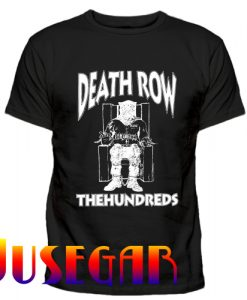 The Hundreds X Death Row Records T Shirt