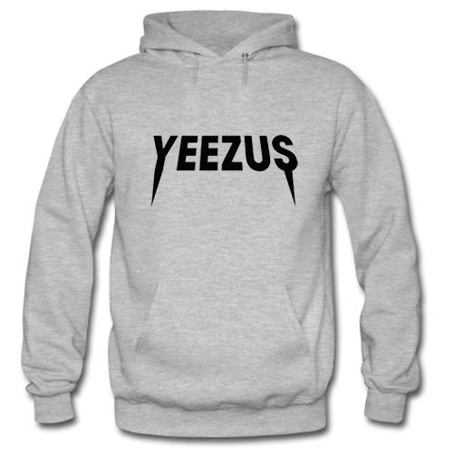 Yeezus Logo Hoodie