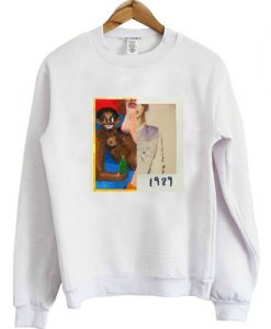 Album Cover Kanye west My Beautiful Dark Twisted Fantasy & Taylor Swift 1989 Tour Sweatshirt