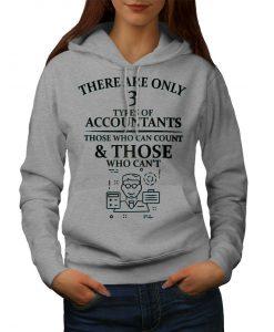 Accountant Types Womens Hoodie