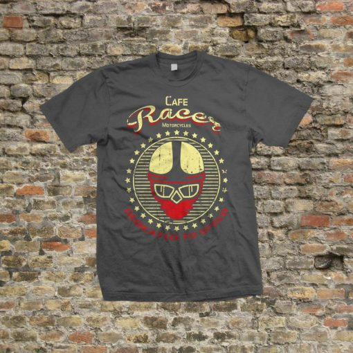 Cafe Racer Dedicated to Speed T Shirt