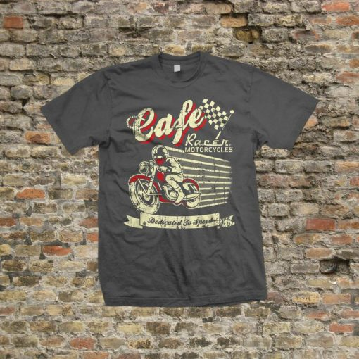 Cafe Racer Motorcycles T Shirt