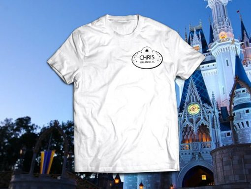 Chris From Orlando Tee shirt
