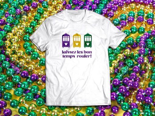 Laissez Les Bon Temps Rouler T-shirt