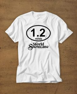 1.2 Miles World Showcase t shirt