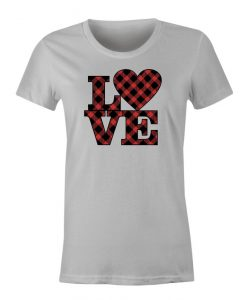 Love Stacked t shirt