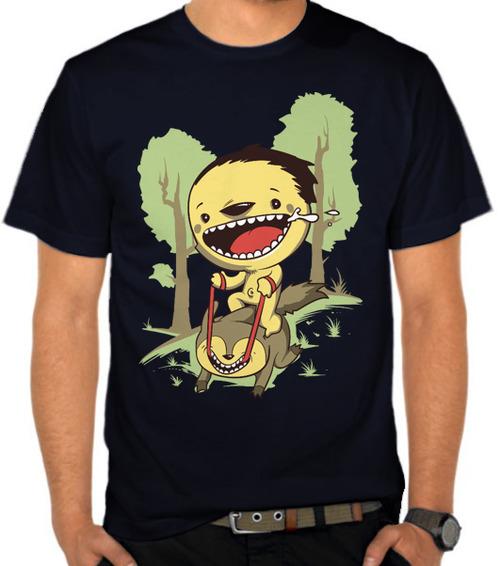 Happy Smile Monster t shirt