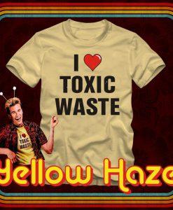 I Heart TOXIC WASTE - T-Shirt