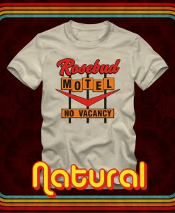 ROSEBUD MOTEL Rollout Pop Out Store No Vacancy T-shirts