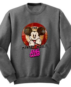 MICKEY MOUSE FIGHT CLUB JUMPER SWEATER