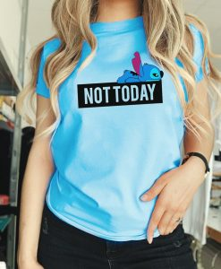 Not today Stitch' Graphic T-Shirt